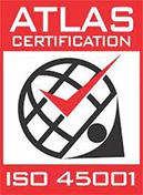 Atlas Certification ISO45001 Logo