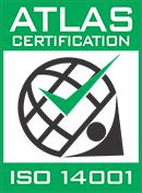 Atlas Certification ISO14001 Logo