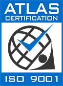 Atlas Certification ISO9001 Logo